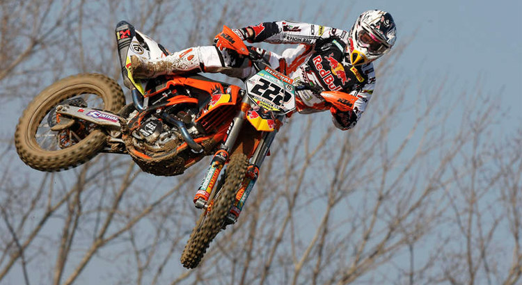 New KTM350 SX wins on it's first time out