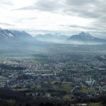 Salzburgland from above