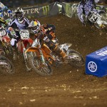 First round AMA Supercross 2011 – Anaheim 1