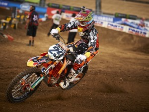 KTM at 3rd round AMA SUpercross Los Angeles, CA