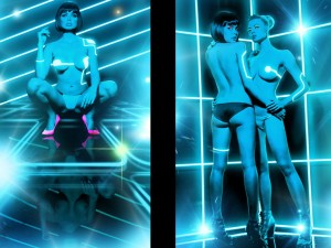 Tron playboy photoshoot