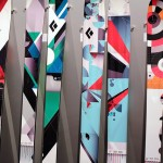 Black Diamond skiis @ ISPO
