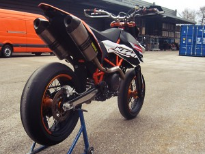 KTM 690 SMC x Enduro R x WP x Powerparts custom