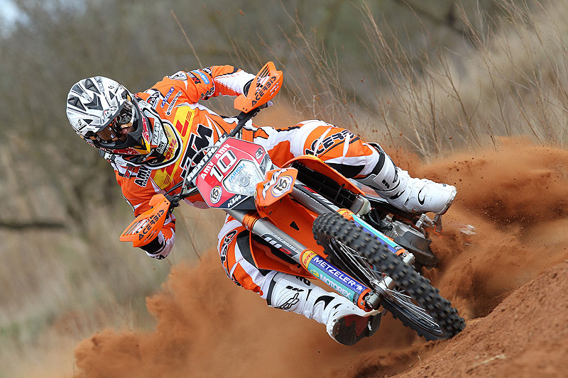 KTM Enduro team Shooting 2011