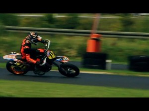2012 Supermoto Sampling Part 2 wit Benedikt Waag and Pavel Kejmar