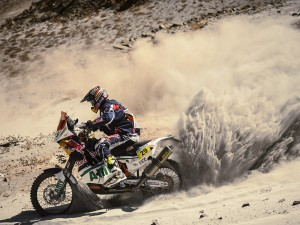 Despres remains third overall as Dakar 2013 enters Chile