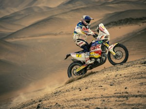 DESPRES NOW SECOND OVERALL AFTER DAKAR STAGE 6