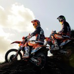 KTM 2013 MX1 Team photoshoot