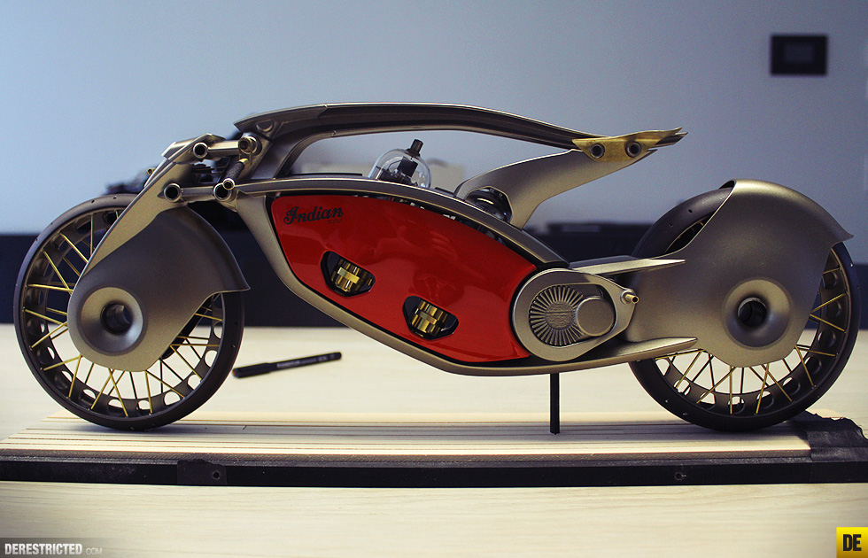 Indian Motorcycles Concept For A New Era Derestricted