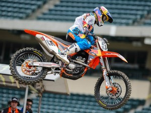 ANOTHER KTM MILESTONE: DOUBLE VICTORY IN RD. 5 OF US SX