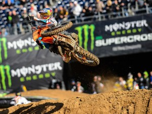 Dungey and Roczen on the SX podium in San Diego