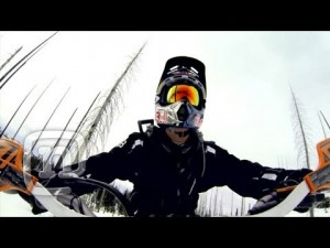 Ronnie Renner Snow Biking Idaho FMX Style: Upside Down & Inside Out Ep. 8