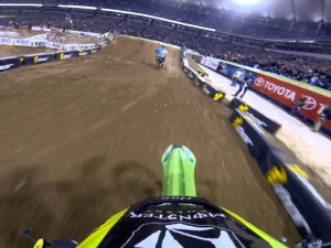 GoPro HD: Ryan Villopoto Main Event 2013 Monster Energy Supercross from Minneapolis