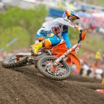 KTM AT THUNDER VALLEY RD. 2 US MX