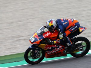 Three-way podium for KTM riders at Moto3 GP of Italy