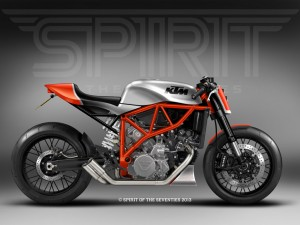 KTM LC8 – Spirit of the seventies