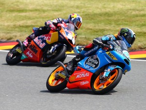 KTM takes 3-way Moto3 podium at Sachsenring