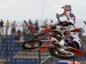 RED BULL KTM FACTORY RACING SWEEPS MX GPS OF GERMANY