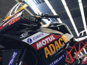 DE photos of the KTM 390 RC – ADAC cup bike