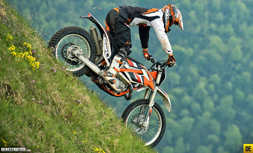 2014 ktm freeride 250 r | derestricted
