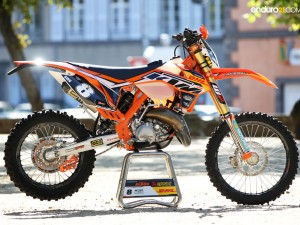 Antoine Meo racing a KTM 125 EXC this weekend!