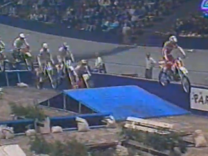 SUPERCROSS ( Woodcross in a veladrome) 1989