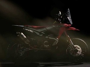 Honda unveils the new CRF450 RALLY – Video