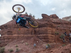 Rampage riders tear up dirt jumps for an epic session