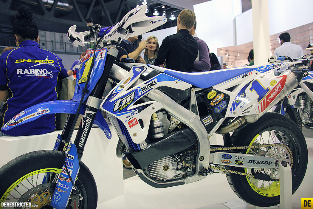 Custom Bmx Bikes >> TM Racing Supermoto's (& Rally) @EICMA 2013 | DERESTRICTED