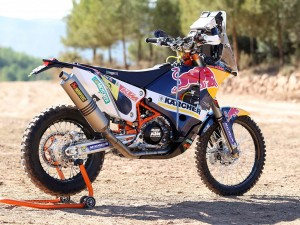 KTM Rally Team Shooting 2014