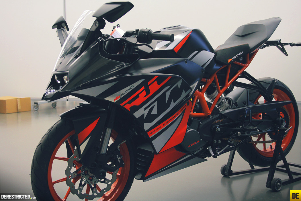 ktm rc 125, rc 200 & rc 390 – derestricted
