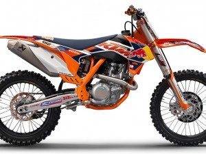 New KTM SX Factory Team GFX and 2014 450 sx-f Factory Edition