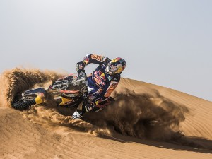 Ruben Faria trains for Dakar 2014