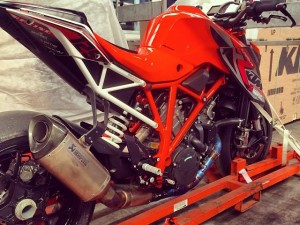 190hp! #ktm #superduke with lots of #powerparts !