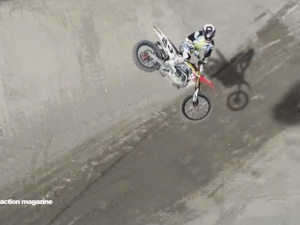 THREE featuring Eli Tomac helicopter shoot