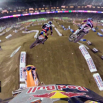 Ken Roczen and Justin Barcia Main Event Battle 2014 Monster Energy Supercross from Phoenix