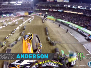 GoPro HD: Jason Anderson Main Event 2014 Monster Energy Supercross from Oakland