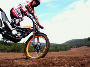 Marc and Dani on Trials Bikes
