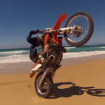 Chris Perry Roostin his KTM300