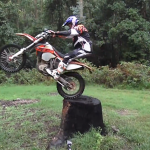 Chris Birch KTM 350 EXC – Stumped