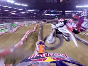 Justin Barcia and Ken Roczen Incident – 2014 Monster Energy Supercross from Arlington