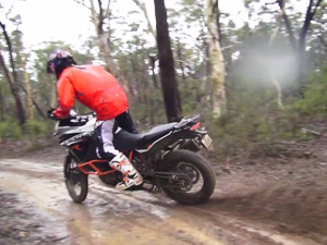 Chris Birch gives KTM1190 Wings!