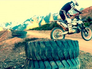 MR – a day at erzberg with the ziesel and ktm bikes