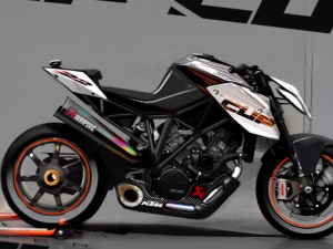 KTM 1290 SUPER DUKE R — The birth of the beast