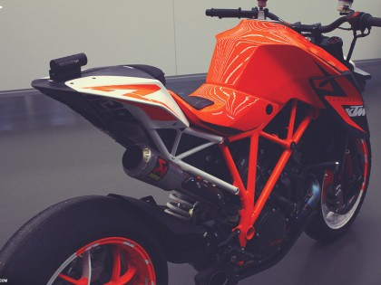 KTM 1290 Superduke R Protoype at KISKA