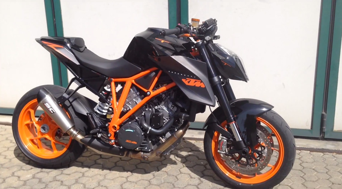 KTM 1290 Super Duke R - SC-Project exhaust
