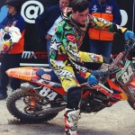 Jeffrey Herlings roosting Dr. Wolfgang Srb and Heinz Kinigadner at Arco MXGP