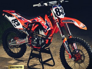 KTM 350 SX-F Dobes custom factory build