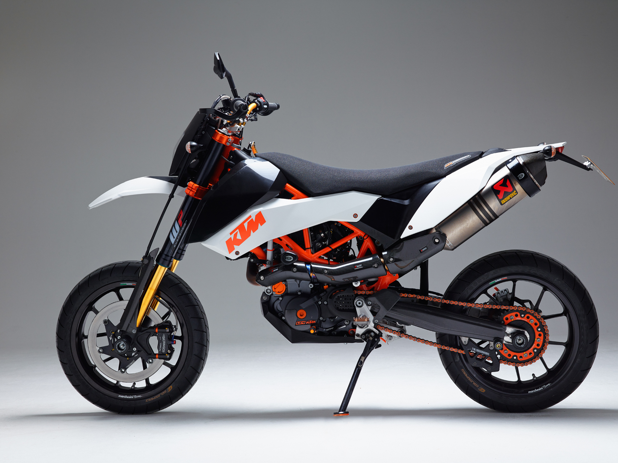 ktm 690 smc r handguards images