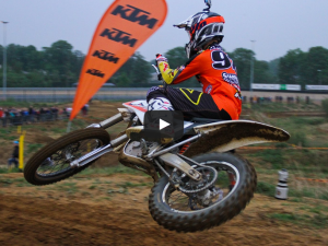 KTM Freeride E race at Zolder before Valkenswaard MXGP.